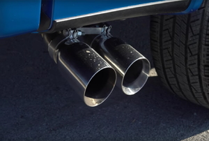 a exhaust pipe