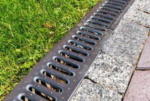 A drain.