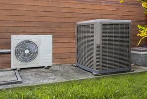 An AC unit.