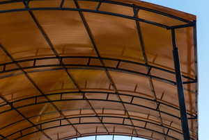 curved carport ceiling
