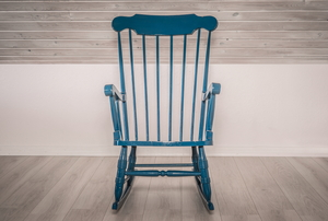 A rocking chair.