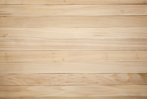 Unstained poplar wood used as flooring.