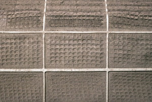 A detailed image of a dirty air filter.