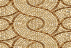 A ceramic tile background mosaic.