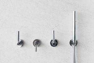 3-handle shower faucet