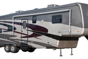 a Fifth Wheel Trailer