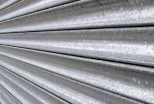 a rolling metal shutter