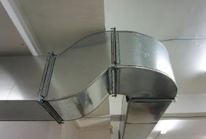 Sheet metal ductwork