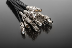 Cluster of coaxial cable