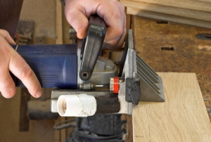 Woodwork Joints With A Biscuit Jointer
