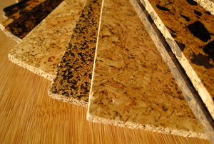 cork flooring samples