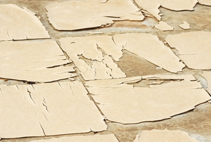 old cracking linoleum