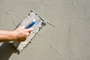 creating a stucco look on a wall