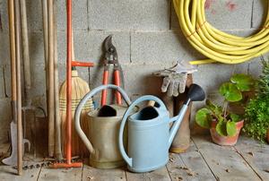 Garden shed supplies