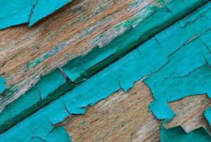 peeling paint siding