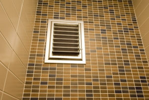 Bathroom air vent.