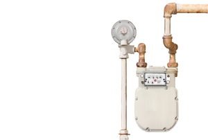 A gas meter.
