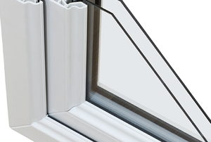 double pane window corner segment