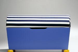 A storage bench.