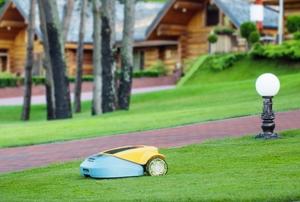 a robot lawn mower