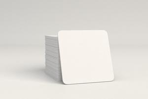 Porcelain tiles in a stack.