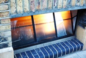 a basement window
