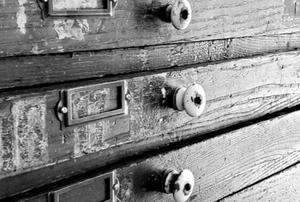 narrow design portfolio drawers