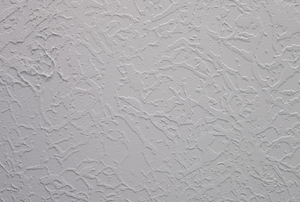 A white, textured ceiling.