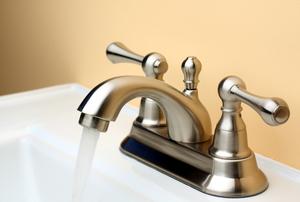 flowing nickel faucet