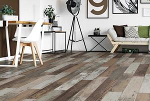 wood-look laminate tile