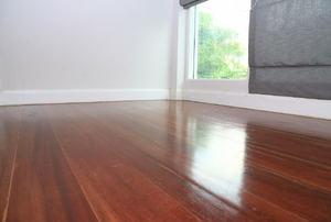 Laminate floors.