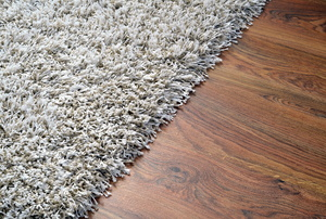 Carpet in a room.