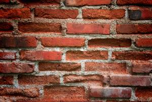 clean brick wall