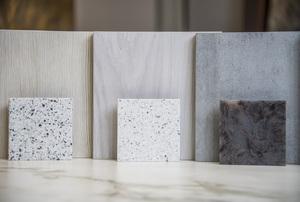 samples of granite materials