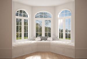 A bay window.