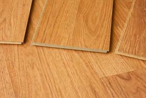 Wood paneling.