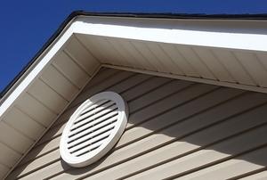 attic vent under gable