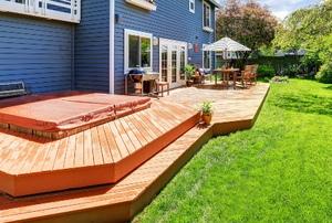 A deck.
