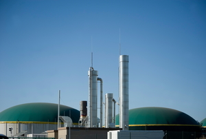 Biogas energy Germany.