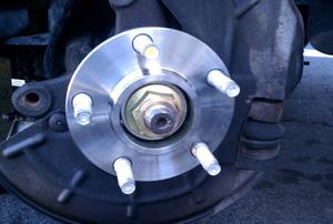 a wheel bearing