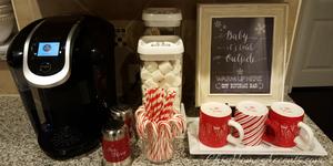 Create Your Own Christmas Coffee Bar