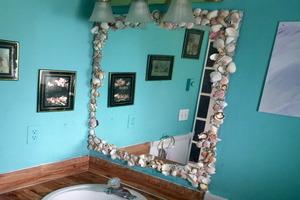 DIY a Seashell Mirror