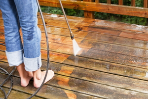 How to Treat Stains on Your Deck