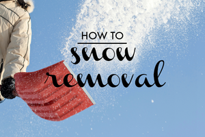 What to Do With Packed Snow and Ice