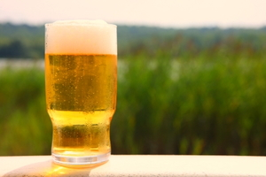 Banish Brown Lawn Spots with Beer