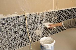 How to Grout a Tile Backsplash