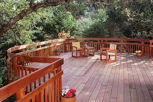 Redwood: an Eco-Friendly Deck Material