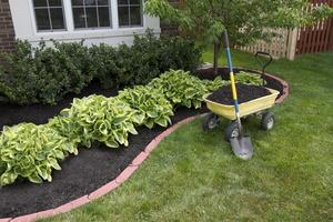 Brick Garden Edging Installation