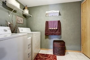 5 Steps to a Fully Loaded Laundry Room