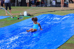 DIY Family Slip'N Slide